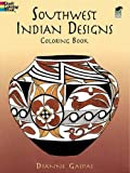 Southwest Indian Designs Coloring Book (Dover Design Coloring Books)