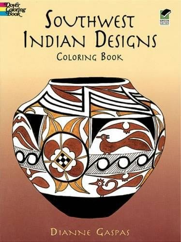 Southwest Indian Designs Coloring Book (Dover Design Coloring ()