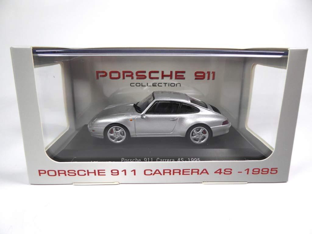 Atlas Porsche 911 Carrera 4S 993 Ref: 4009 1995 gray1 // 43