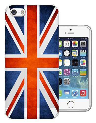 C0709 - Great Britain United Kingdom Union Jack Flag Design iphone 5 5S Fashion Trend Protecteur Coque Gel Rubber Silicone protection Case Coque