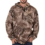 Realtree Men's Performance Pullover Fleece, X-Large, Realtree Max XT Camouflage