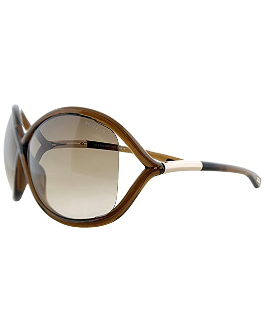 Gafas de Sol Tom Ford WHITNEY FT 0009 TRANSPARENT DARK BROWN ...