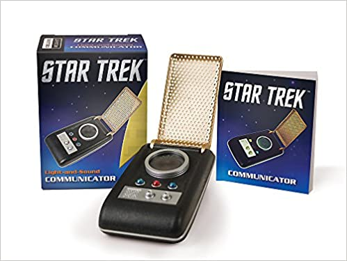 Star Trek: Light And Sound Communicator (Miniature Editions): Chip Carter:  9780762459339: Amazon.com: Books