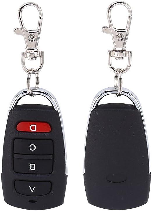 Garage Door Remote Control Key Fob 4 ALLMATIC AEMX1 433 AEMX2 433 Ku