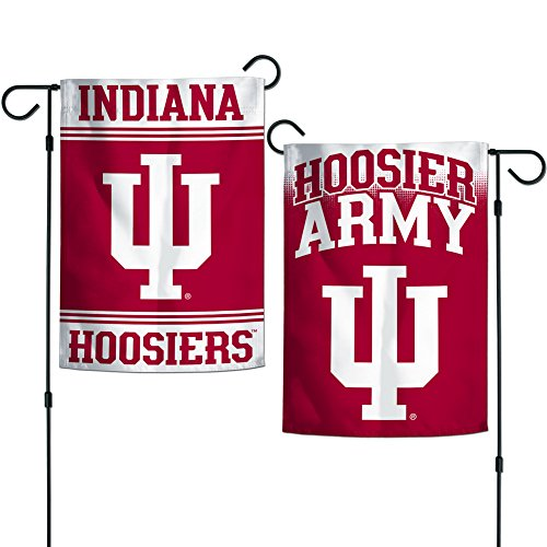 Elite Fan Shop Indiana Hoosiers Garden Flag 12.5