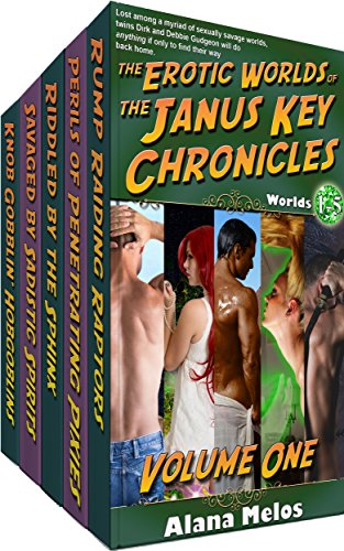 The Erotic Worlds of the Janus Key Chronicles: Volume 1: Worlds 1-5