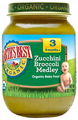 Earths Best Organic Zucchini Broccoli