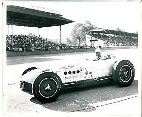 Indianapolis Motor Speedway Official 8 X 10 Indy 500 Photo-1954-D - D G 7