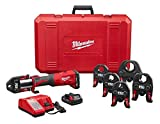 "Milwaukee 2773-22 M18 Force Logic 1/2"" - 2"" Press Tool Kit (6 Jaws Included)"