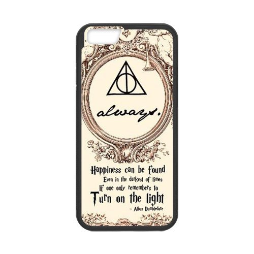 Fayruz- Personalized Protective Hard Textured Rubber Coated Cell Phone Case Cover Compatible with iPhone 6 & iPhone 6S - Harry Potter Hogwarts F-i5G850