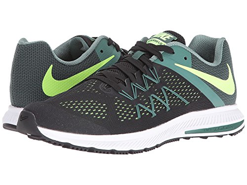 4e8a216ccb78 Nike Zoom Winflo 3 Black Ghost Green Green Stone White Men s Running Shoes   Amazon.ca  Shoes   Handbags