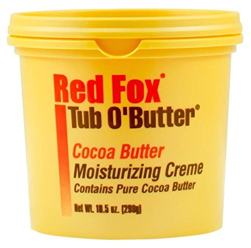 Red Fox Tub O' Butter Cocoa, Moisturizing Creme 10.5 oz by Red Fox