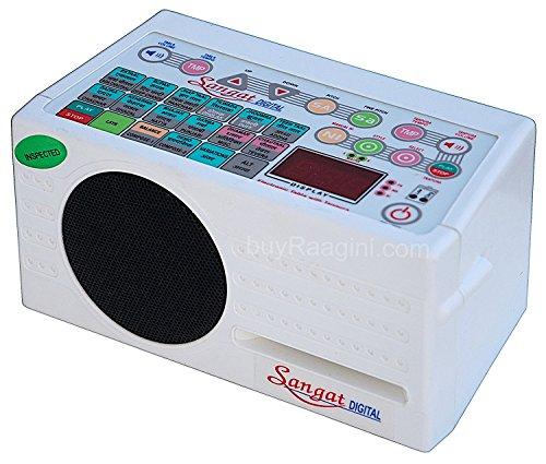 Sangat Digital Electronic Tanpura - With Tabla, Pakhawaj Dholak & Duff (5 in 1) Bag, Manual & Mains Cord By SOUND LABS - Tambura (PDI-DBF)