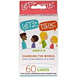 LetzTalk Conversation Starter and Question Cards - Builds Self-Esteem and Confidence - Ages 5-8