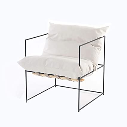 MILAYA JI Bin Shop® Sofá Individual Moderno Minimalista Tela ...