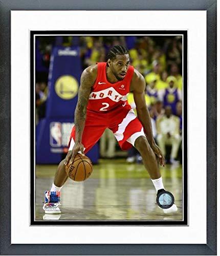 Finals Action Photo - Kawhi Leonard Toronto Raptors 2019 NBA Finals Action Photo (Size: 12.5