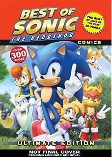 The Complete Sonic The Hedgehog Comic Encyclopedia Amazonca Sonic