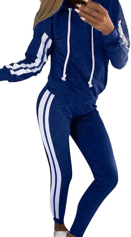 Frauen Trainingsanzug Zipper   Set Fitness Jogginganzug Sportanzug