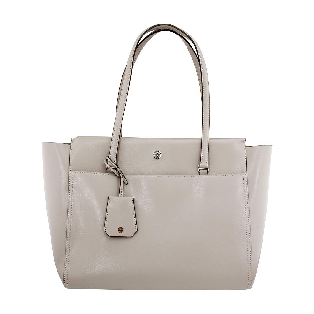 0b833e8a6a11 Amazon.com  Tory Burch Parker Ladies Large Leather Tote Handbag 37169042   Watches