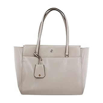 49b23303804 Amazon.com  Tory Burch Parker Ladies Large Leather Tote Handbag 37169042   Watches