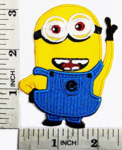 Despicable Me Minion cartoon kid patch Symbol Jacket T-shirt Patch Sew Iron on Embroidered Sign Badge - Despicable Minion Me Logo