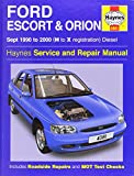 Ford Escort and Orion Diesel Service Repair Manual: 1990 to 2000 (H to X Reg) (Service & repair manuals) by R. M. Jex (7-Nov-2014) Hardcover