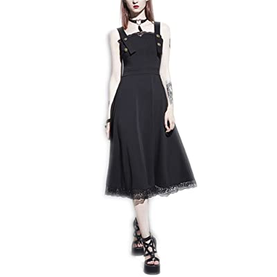 Sleeveless Black Summer A-Line Lace Backless Spaghetti Strap Slim Waist Party Female Dresses