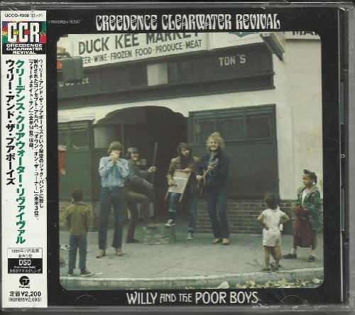willy and the poor Boys JAPAN Pressing DSD UCCO4009