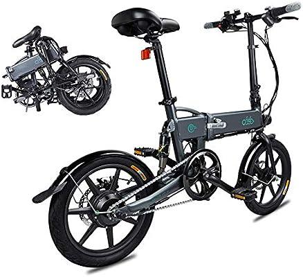 Bicicleta Eléctrica Plegable, Fiido D2 Ebike 7.8Ah Batería de ...