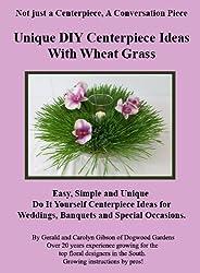 Unique DIY Centerpiece Ideas with Wheat Grass