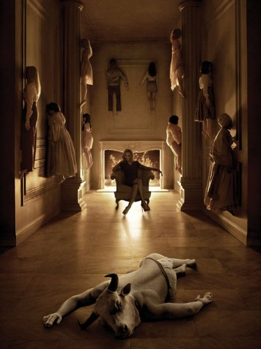 American Horror Story TV Series Poster Thick - Evan Peters, Jessica Lange, Lily Rabe