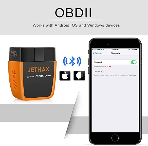 The JETHAX can support IOS, Android and Windows devices