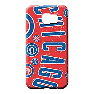 samsung galaxy s6 edge Series Back stylish mobile phone carrying covers chicago bulls mlb baseball