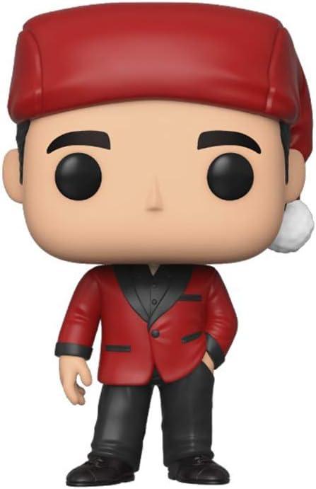 Funko Pop! TV: The Office - Michael As Classy Santa, Multicolor