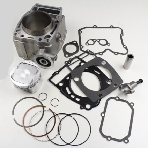 (Cylinder Piston Gasket Top End Kit For Polaris Ranger 500 99-09 Magnum 500 1999-2003 Sportsman X2 500 2006-2009 Scrambler 500 1997-2010 Xplorer 500 1997 Big boss 500 1999 2001 ATP 500 2004-2005)