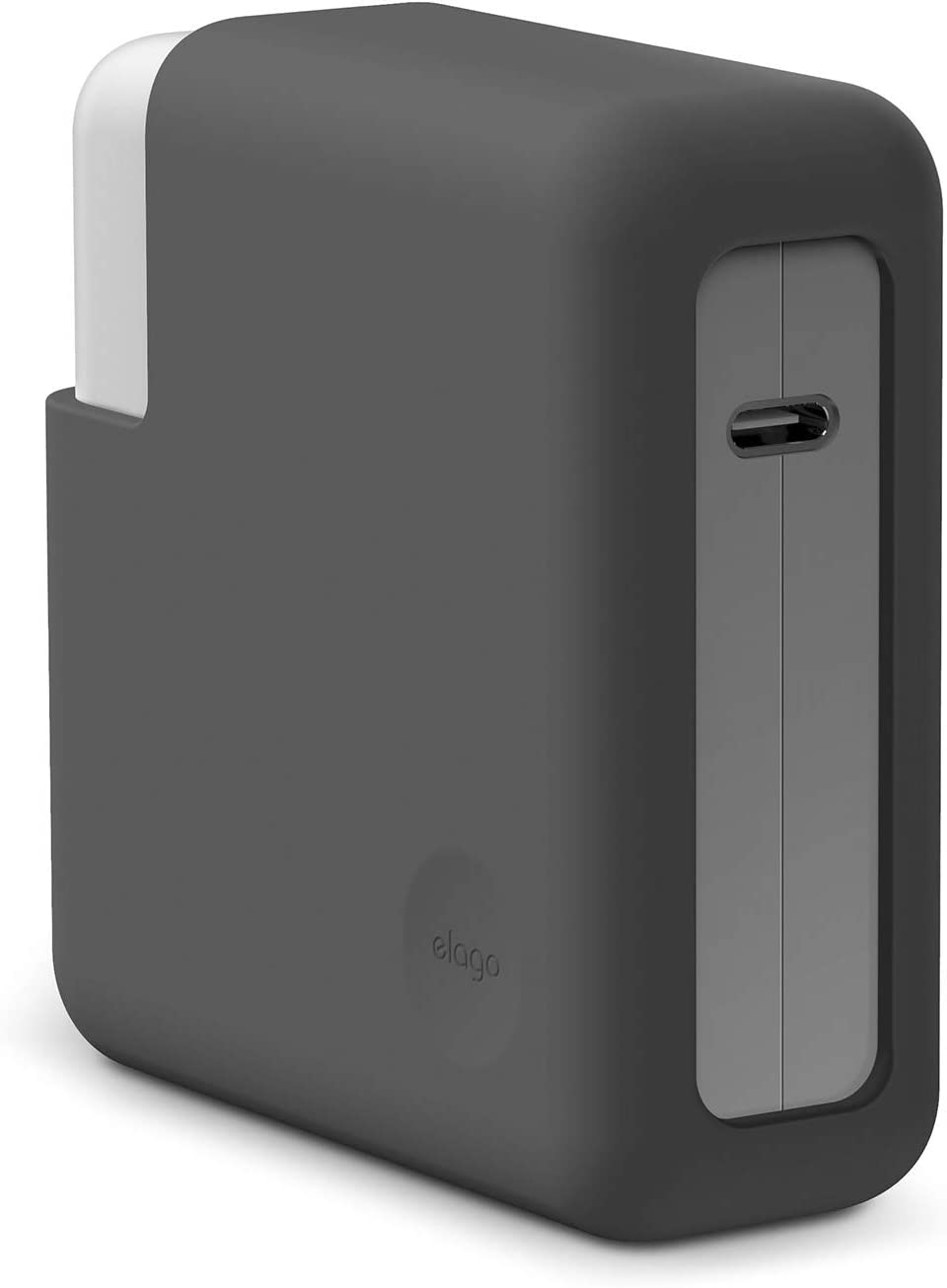 "elago MacBook Charger Cover for MacBook Pro 16"", 15"" [Extra Protection] [Dark Grey]"