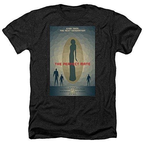 Star Trek: The Next Generation The Perfect Mate Juan Ortiz Poster Unisex Adult Heather T Shirt For Men and Women