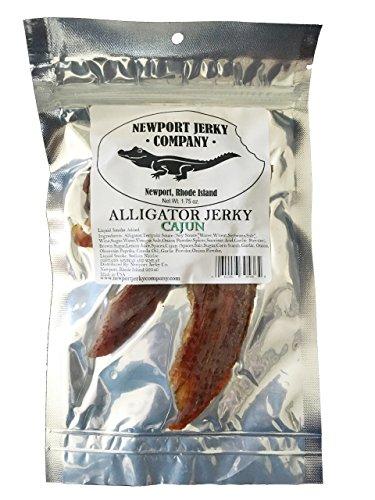 Cajun Smoked Salmon (Alligator Jerky)