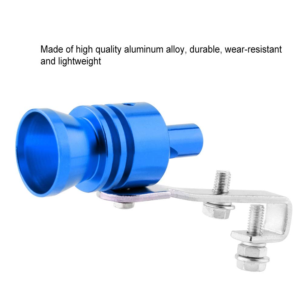 Universal Car Exhaust Pipe Turbo Whistle for Automobile ATV SUV Auto Accessories Exhaust Pipe Blue