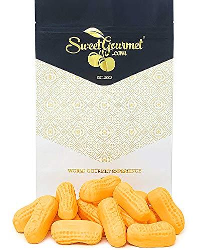 SweetGourmet Orange Circus Peanuts Marshmallow   Spangler Retro Candy   1 Pound