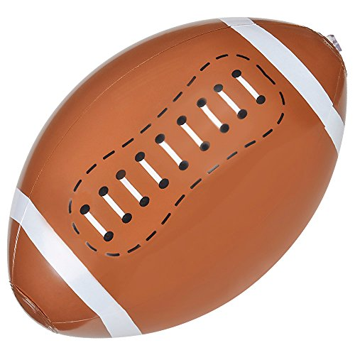 Inflatable FOOTBALL Beach Balls/INFLATES/POOL PARTY Birthday FAVORS/TOY 16