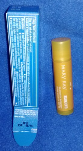 Mary Kay Lip Protector Sunscreen SPF 15*,.16 oz. net wt. by Mary Kay