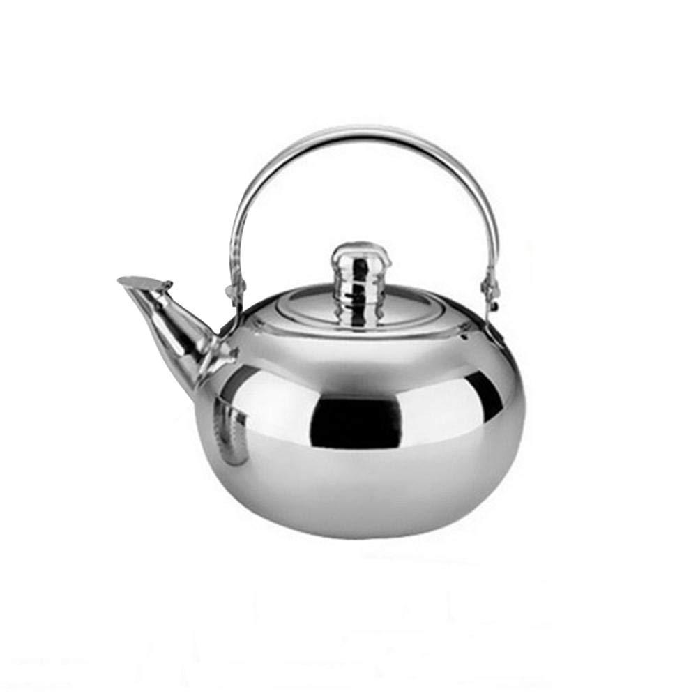 Wasserkessel aus rostfreiem Edelstahl Teekessel Kaffeekanne Teekanne Wasserkocher Purebesi123