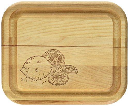 Catskill Craftsmen 7-Inch Bar Board with Branded Lemons