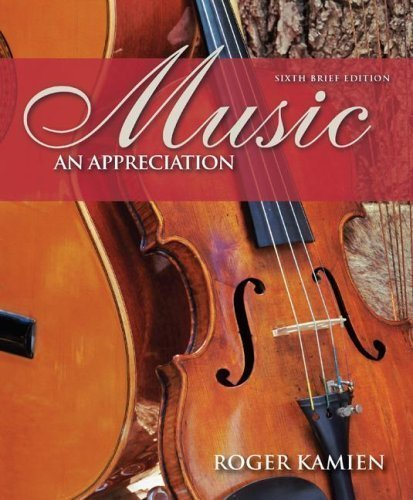 6th Edition Music Book - 4