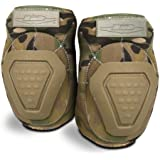 Damascus DNEPM Imperial Neoprene Elbow Pads with Reinforced Non-slip Trion-X Caps, Multi-Cam Camo