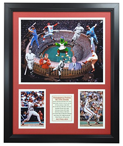 - Legends Never Die MLB Philadelphia Phillies All-Time Greats Framed Photo Collage, 18