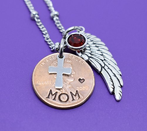 Memorial Jewelry, Pennies From Heaven Necklace keepsake, Penny