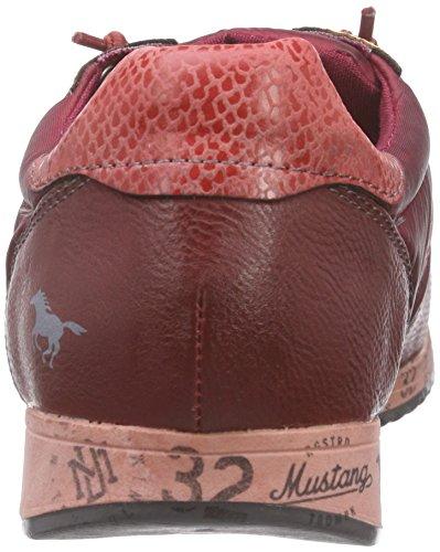 Mustang 1226-401, Mocassins Femme Rouge (57 weinrot)