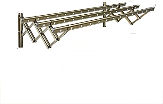 QFFL Colgador Plegable retráctil de 18 Orificios / 28 Orificios de Secado Flotante para Exterior Push-Pull Exterior Exterior 120cm (47.2 Pulgadas) / 150cm (59 Pulgadas) Colgadores de Ropa: Amazon.es: Hogar